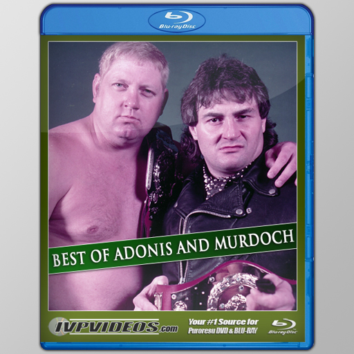 Best of Adonis & Murdoch (Blu-Ray with Cover Art)